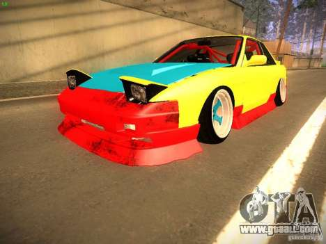 Nissan Onevia 2JZ for GTA San Andreas back left view