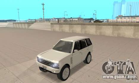 Range Rover Vogue 2003 for GTA San Andreas