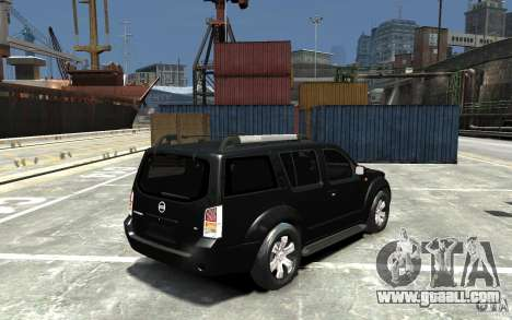 Nissan Pathfinder 2006 for GTA 4 right view