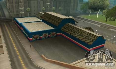 Pepsi Market and Pepsi Truck for GTA San Andreas second screenshot