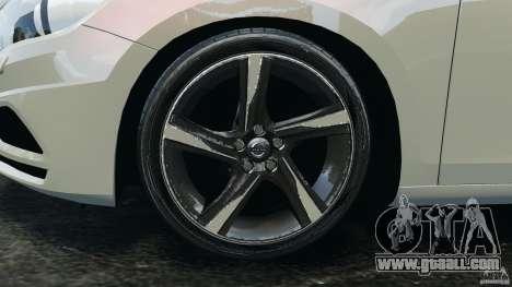 Volvo S60 R Design for GTA 4 upper view