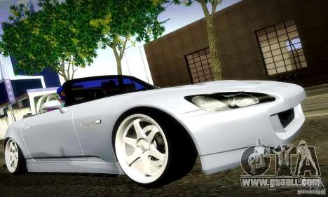 Honda S2000 Street Tuning for GTA San Andreas left view