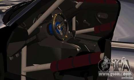 Mazda MX5 Style Drifting for GTA San Andreas back view