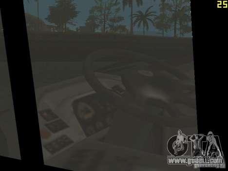 Neoplan Tourliner for GTA San Andreas inner view