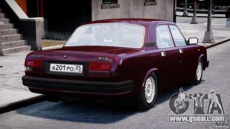 GAZ 3110 Volga for GTA 4 side view