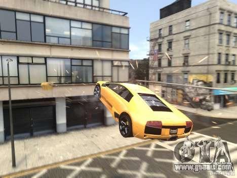Lamborghini Murcielago LP640 2007 for GTA 4 upper view