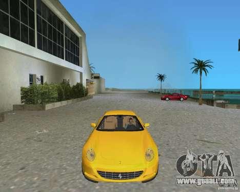 Ferrari 612 Scaglietti for GTA Vice City back left view