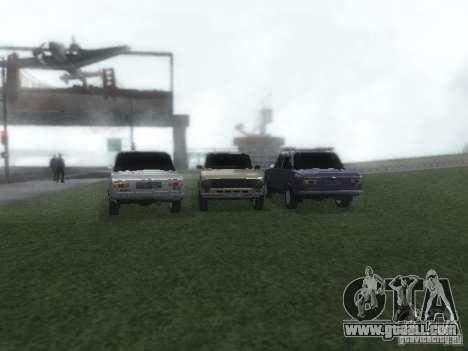 VAZ 2101 for GTA San Andreas engine