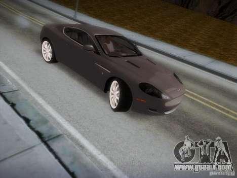 Aston Martin DB9 for GTA San Andreas side view