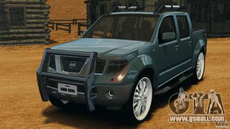 Nissan Frontier DUB v2.0 for GTA 4