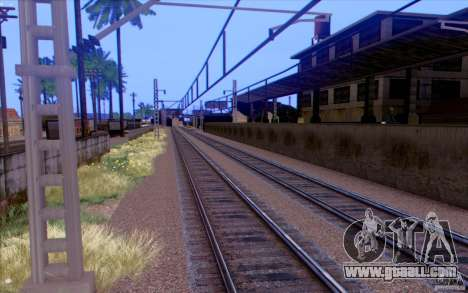 Russian TRAIN version v1.0 for GTA San Andreas fifth screenshot