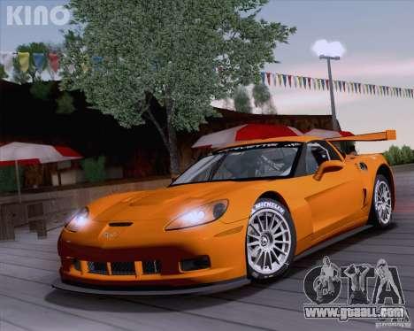 Chevrolet Corvette C6 Z06R GT3 v1.0.1 for GTA San Andreas