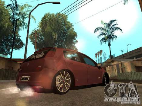 Fiat Punto T-Jet Edit for GTA San Andreas left view