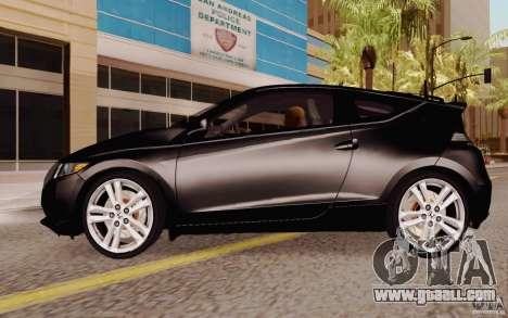 Honda CR-Z 2010 V3.0 for GTA San Andreas left view