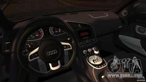 Audi R8 5.2 Stock 2012 Final for GTA 4