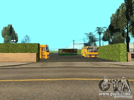 5 Bus v. 1.0 for GTA San Andreas