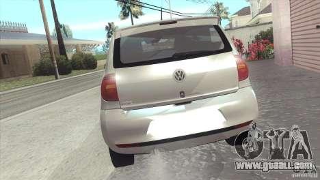 Volkswagen Fox 2013 for GTA San Andreas left view