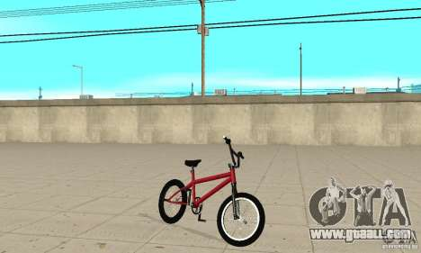 Powermatic BMX 2006 for GTA San Andreas left view