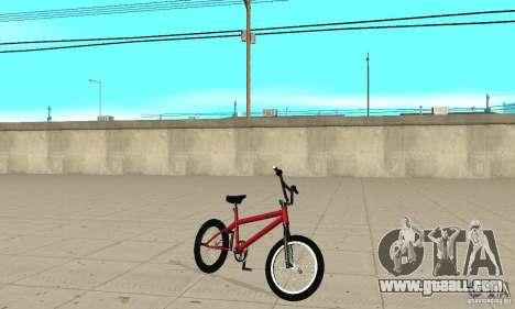 Powermatic BMX 2006 for GTA San Andreas left view