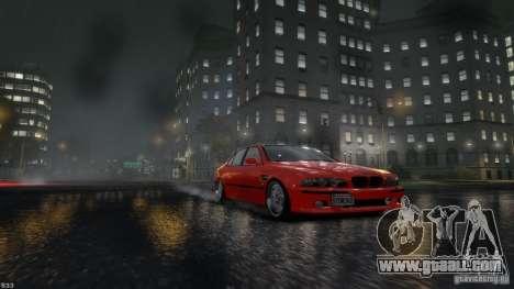 BMW M5 E39 BBC v1.0 for GTA 4 left view