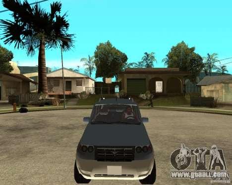UAZ Patriot 4 x 4 for GTA San Andreas back view