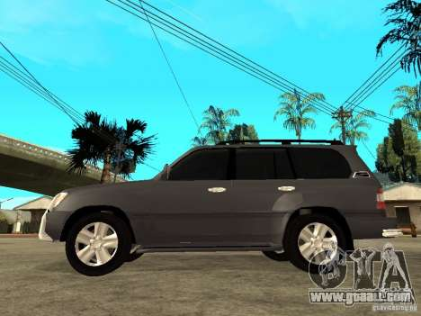 Toyota Land Cruiser 100 for GTA San Andreas left view
