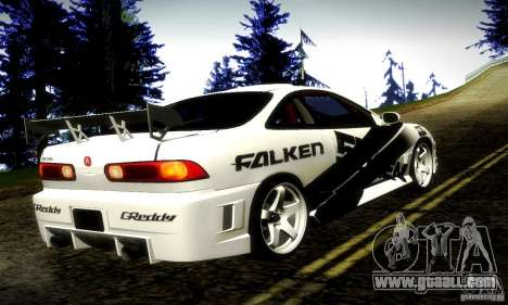 Acura Integra Type R for GTA San Andreas left view