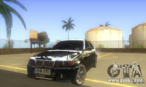 BMW 325i E46 v2.0 for GTA San Andreas