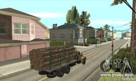 KrAZ-257 for GTA San Andreas right view