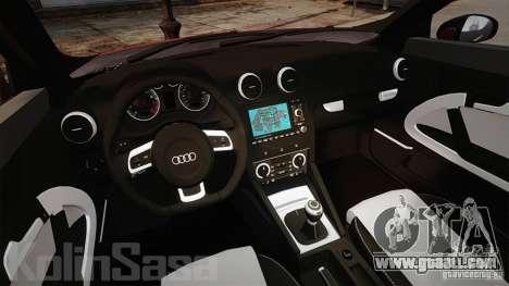 Audi A1 Quattro for GTA 4 back view