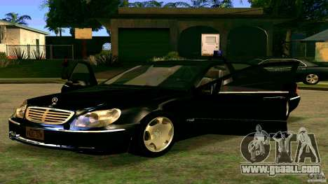 Mercedes S500 for GTA San Andreas left view