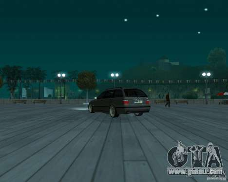BMW E36 Touring for GTA San Andreas left view