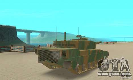 JGSDF Type90 Tank for GTA San Andreas left view
