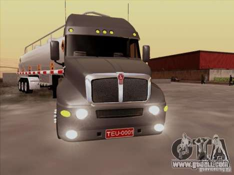 Kenworth T2000 for GTA San Andreas left view