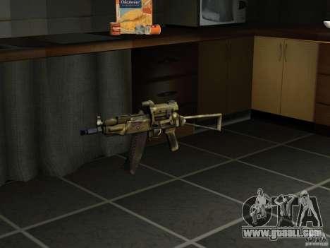 Pak domestic weapons version 4 for GTA San Andreas forth screenshot