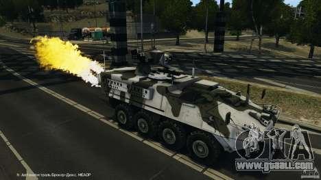 Stryker M1134 ATGM v1.0 for GTA 4 interior
