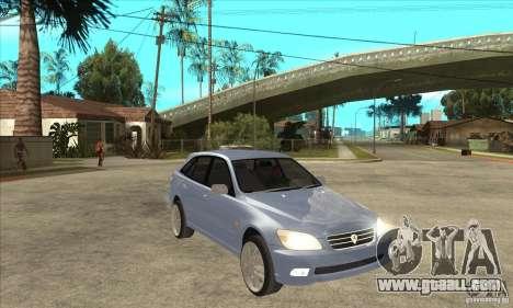 Toyota Alteza Wagon for GTA San Andreas back view
