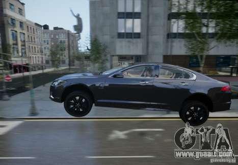 Jaguar XFR 2010 V.2.0 for GTA 4 bottom view