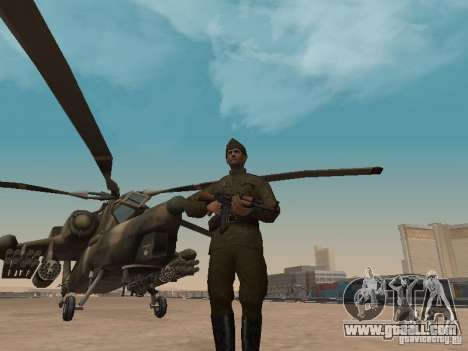 Mi-28 for GTA San Andreas