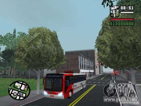 Caio Millennium TroleBus for GTA San Andreas
