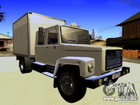 GAZ 3309 Huntsman for GTA San Andreas