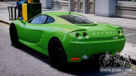 Ascari KZ-1 for GTA 4 right view