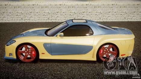Mazda RX-7 Veilside v0.8 for GTA 4 left view