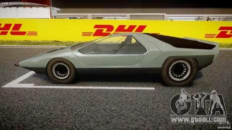 Alfa Romeo Carabo for GTA 4 left view