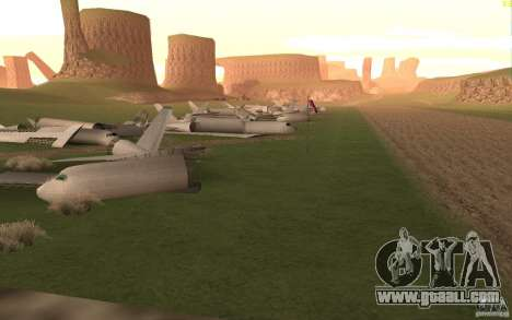 New desert for GTA San Andreas seventh screenshot