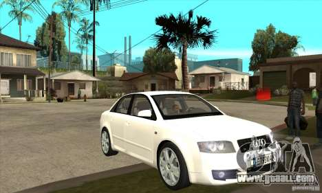 Audi S4 2004 for GTA San Andreas back view