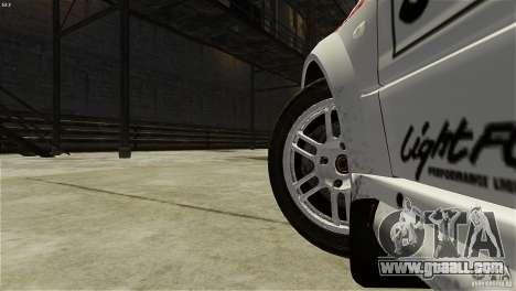Mitsubishi Lancer Evolution IX RallyCross for GTA 4 back view