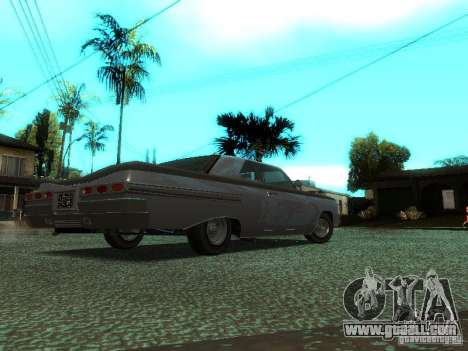 Voodoo in GTA IV for GTA San Andreas back left view