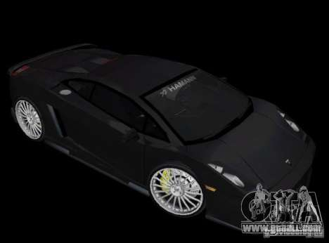 Lamborghini Gallardo Hamann Tuning for GTA Vice City left view