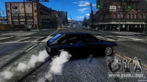 VAZ 2109 Drift Turbo for GTA 4 side view